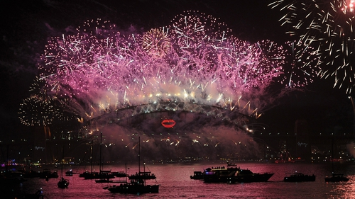 Sydney was among the first major cities to welcome 2013