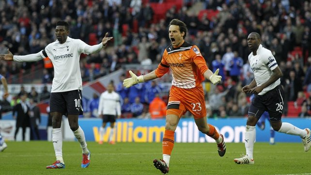 Carlo Cudicini's final major game for Spurs came in last season's 5-1 FA Cup semi-final drubbing by Chelsea