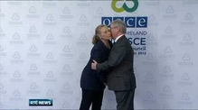 Hillary Clinton treated for blood clot