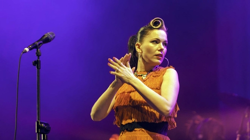 Imelda May headlined the New Year's Eve Concert