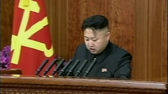 Kim Jong-un took over power in the reclusive state after his father's death