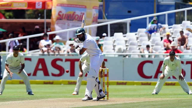 Hashim Amla South Africa (c) was among those who put the Kiwis to the sword
