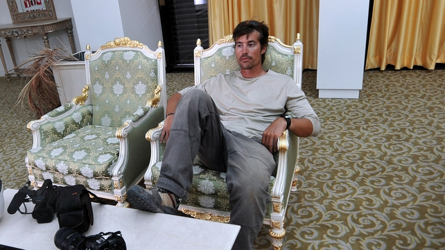 James Foley was kidnapped in Idlib province on 22 November