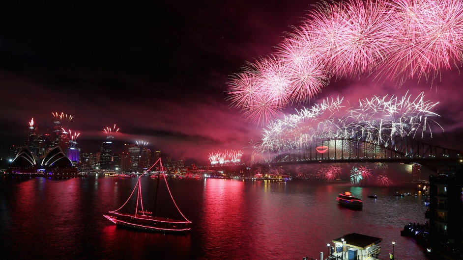 Sydney welcomes the New Year in style