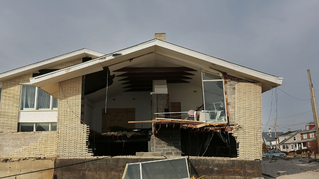 Recovery is slow after superstorm Sandy