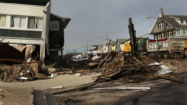 The funding will help people whose homes were destroyed by Superstorm Sandy