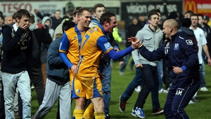 Minnows Mansfield earned a glamorous Cup tie against Liverpool after overcoming Lincoln in the second round at the One Call Stadium