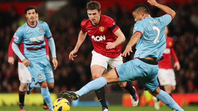 West Ham entertain Man United at 5.15pm on Saturday