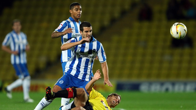 Gary Dicker could start for Brighton against Newcastle in the early kick-off in the third round of the FA Cup