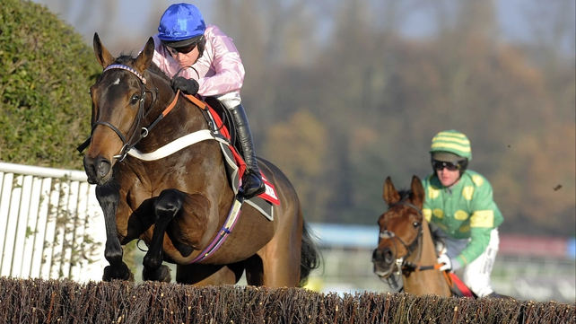 Captain Conan could bid to extend his unbeaten record over fences in the Scilly Isles Novices' Chase at Sandown next month
