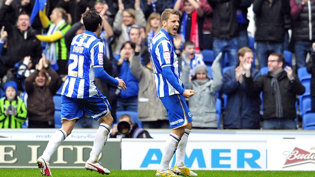 Brighton knocked Newcastle United out of the FA Cup for the second year running