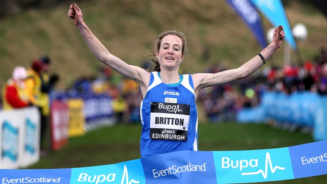 Fionnuala Britton secured another victory to confirm her standing as leading European cross country runner