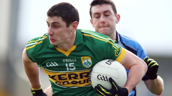 Paul Geaney was to the fore for Kerry