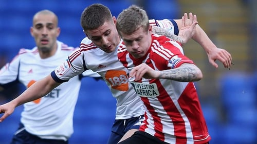 James McClean is ready to make his mark at Wigan