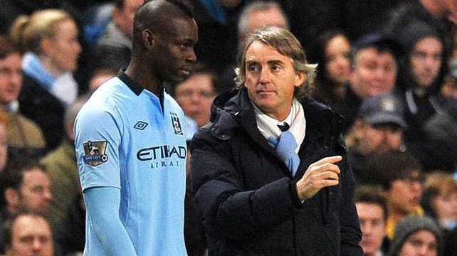 Mario Balotelli and Roberto Mancini have parted company