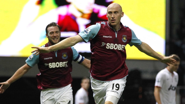 James Collins' double looked to be enough for the Hammers