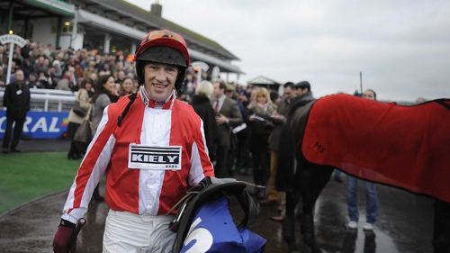 Paul Carberry returns to the saddle at Fairyhouse on Wednesday