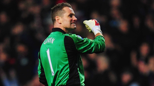 Shay Given has played just seven games for Aston Villa this season