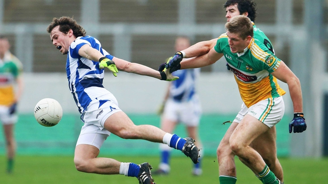 Offaly's win over Laois was their third victory in a row after beating Louth and Meath in pre-season