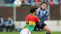 Report: Carlow 1-12 Dublin 3-13.