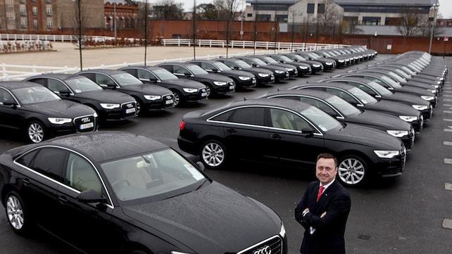 Audi's diplomatic fleet