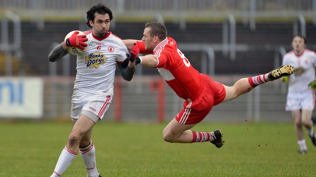 Joe McMahon remains an absentee for Tyrone
