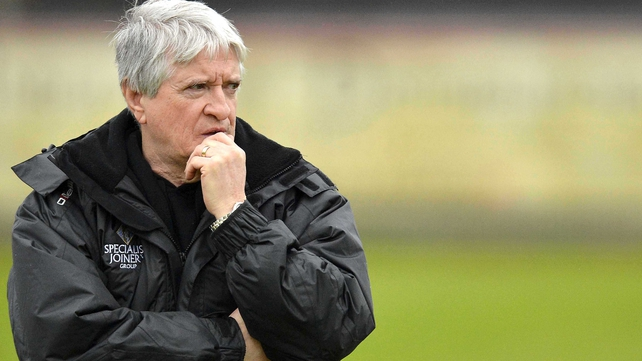 Brian McIver: 'A lad can look good in club football but you only really know how they can perform at that level when you see them in a county game'