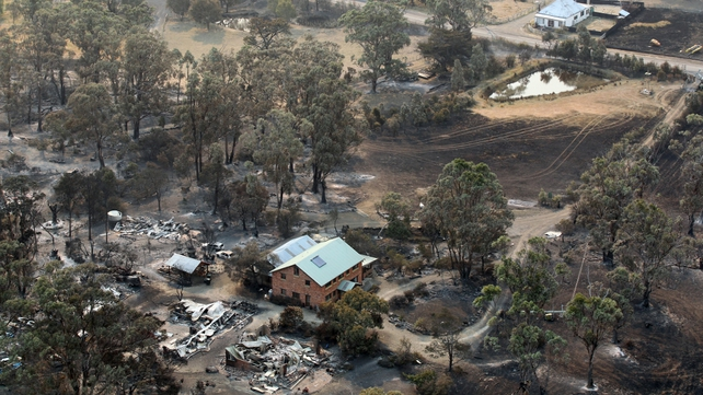 Thousands have fled the Australian island of Tasmania due to numerous wildfires