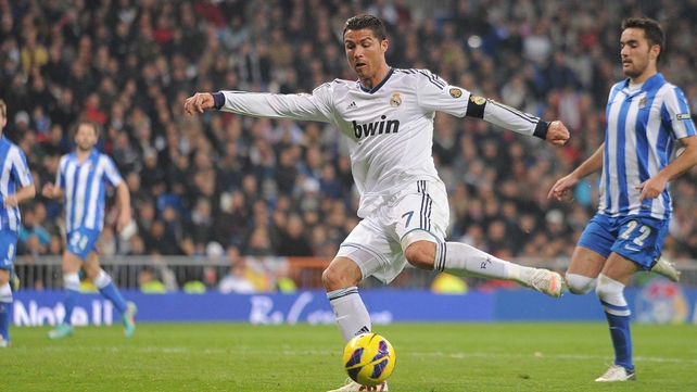 Ronaldo in fine form lately with 14 goals in seven games for Real