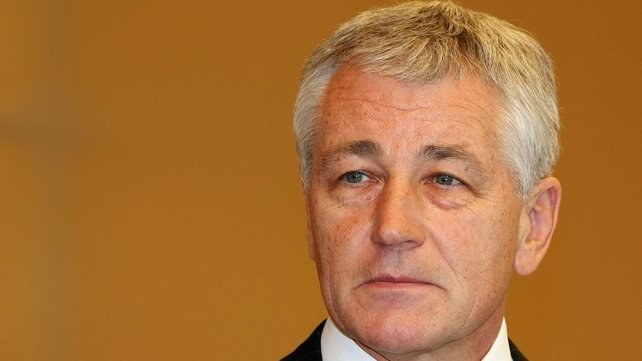 Former Republican senator Chuck Hagel served in the Vietnam War