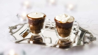 Irish coffee cups - A wonderful recipe from Rachel Allen to top off a dinner party or meal for two