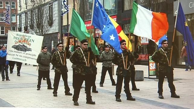A spokesman for Republican Sinn Féin in Dublin said it did not organise the event