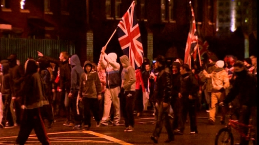 Invest Northern Ireland on the impact of the flag riots