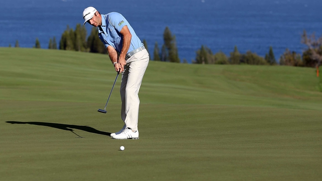 Dustin Johnson took the first title of the 2013 PGA tour