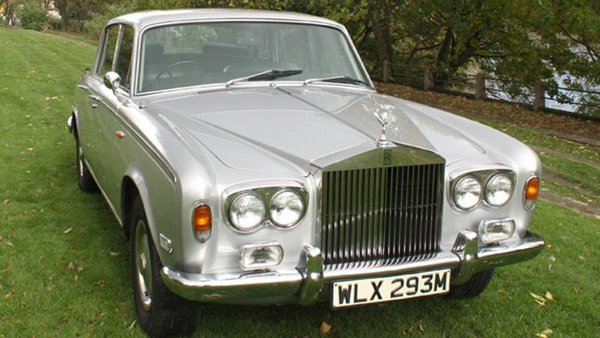 Freddie Mercury's 1974 Silver Shadow