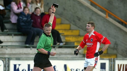 Referees will have the option of punishing footballers with a black card from the start of 2014