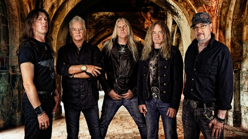 Rock of ages: Saxon in for Dublin gig this May