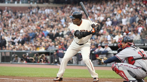 Barry Bonds in action back in 2007 for the San Francisco Giants