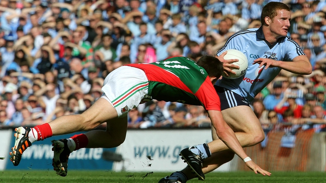 Kilkenny played in Dublin's loss to Mayo in the All-Ireland semi-final last summer