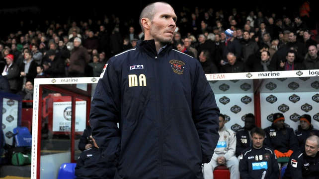 Michael Appleton joined Blackpool just two months ago