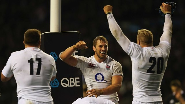Captain Chris Robshaw is likely to play a pivotal role for England at Twickenham