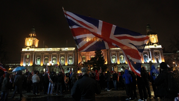 Unionist groups are trying to find ways to end the violence surrounding the Union flag dispute