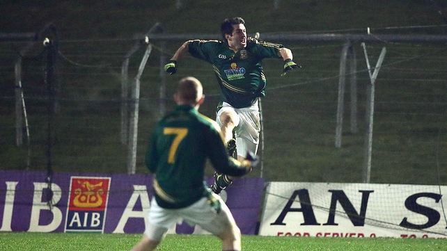 Gilsenan celebrates his late goal