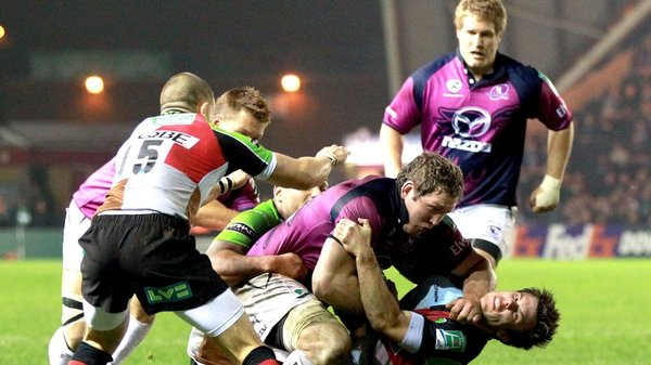 Harlequins will look to do the double over Connacht after their 30-22 victory in Galway last October
