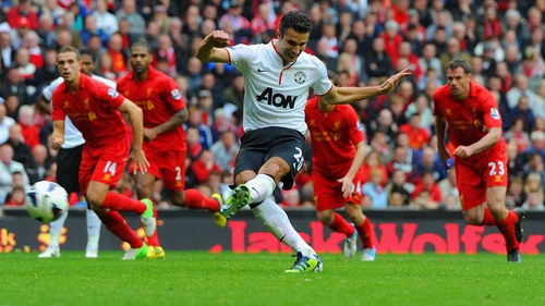 Liverpool will have their work cut out to keep Robin Van Persie quiet