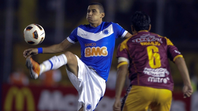 Wellington scored 27 goals for Cruzeiro last season