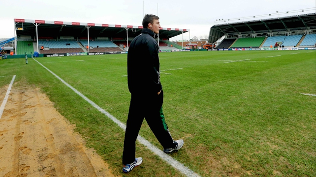 Matthew Jarvis takes a look at the pitch ahead of the Harlequins-Connacht clash