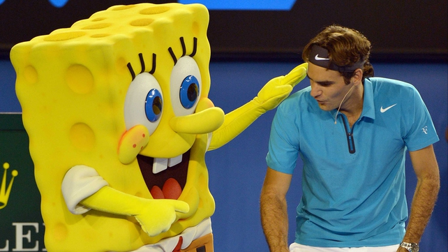 Roger Federer's choice of training partner in advance of the Australian Open has raised a few eyebrows.