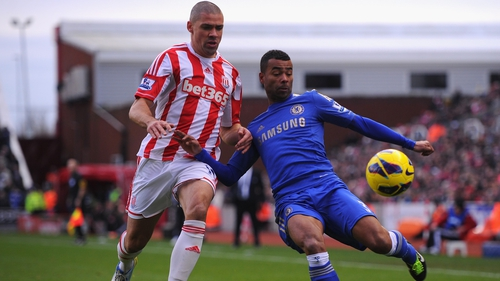 Ashley Cole is staying with Chelsea