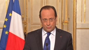 Francois Hollande said France 'had elements of information' that Syria was using chemical weapons